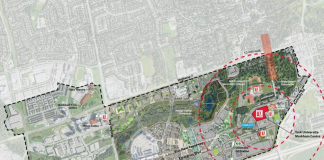 Markham York University siteplan