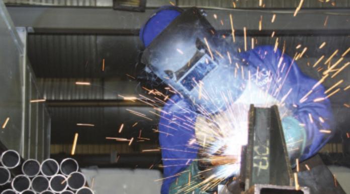 steelmaking stock photo