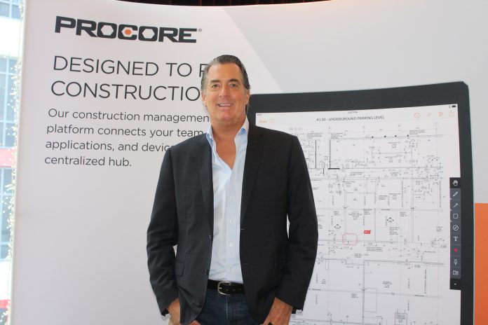 Procore  CEO and founder Tooey Courtemanche