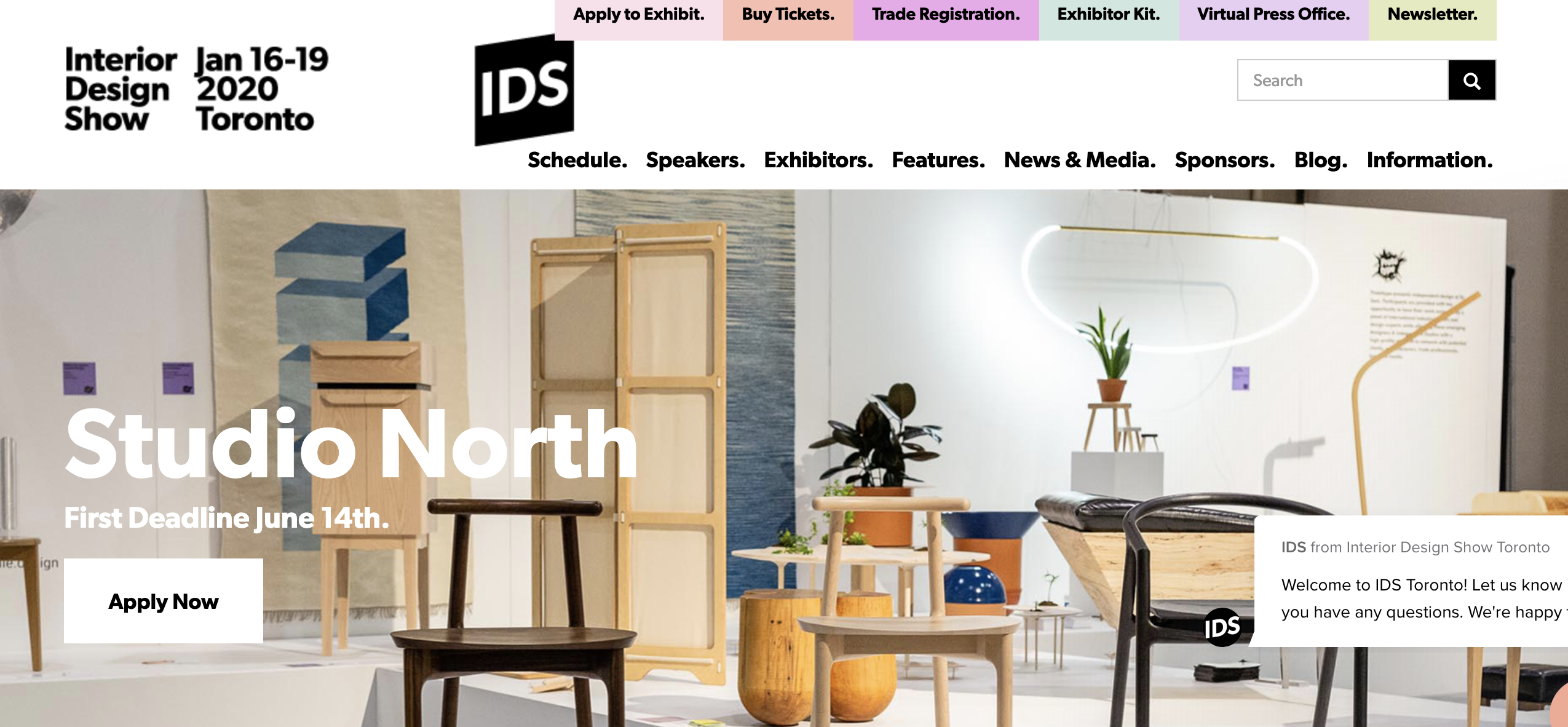 Deadline Approaches To Be A Part Of The Interior Design Show 2020 S Studio North And Prototype Sections Ontario Construction News