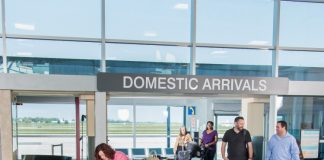 arrivals waterloo airport