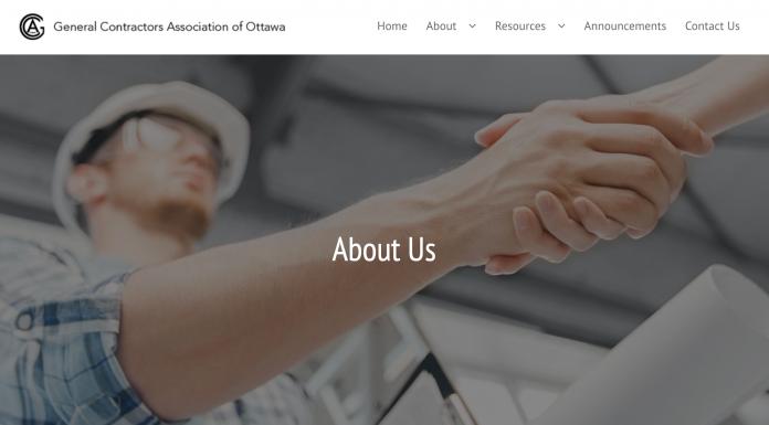 GCAO web page