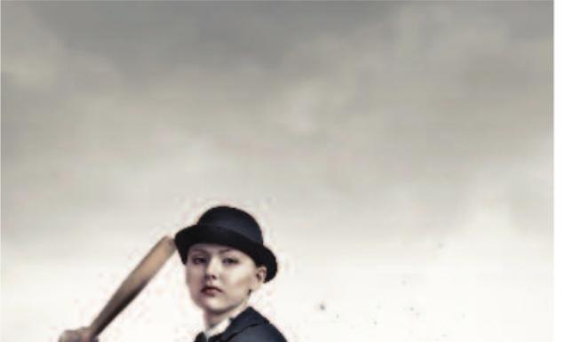 man at bat stock image