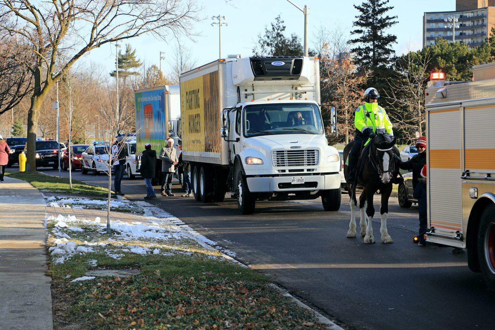 Markland Christmas Caravan 2020 Christmas greetings community spirit: Sharing goodwill for all