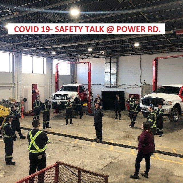 covid 19 safety talk