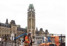 construction parliament hill