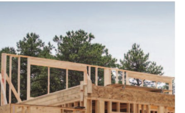 homebuilding stock image