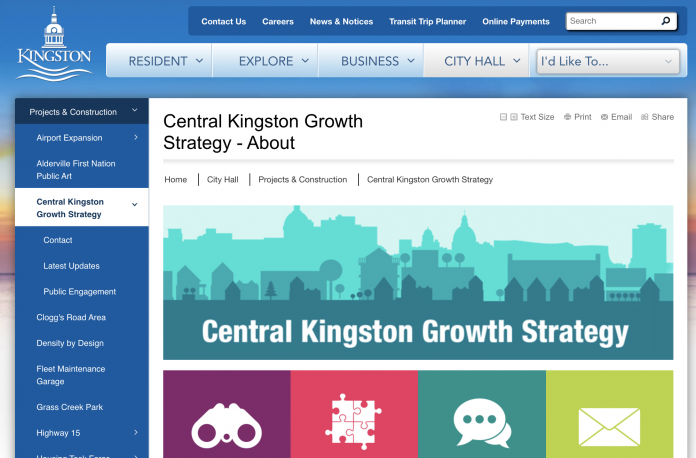 kingston growth strategy page