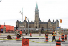 parliament hill consttruction