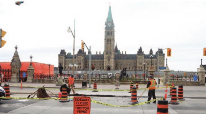 parliament hill consttruction