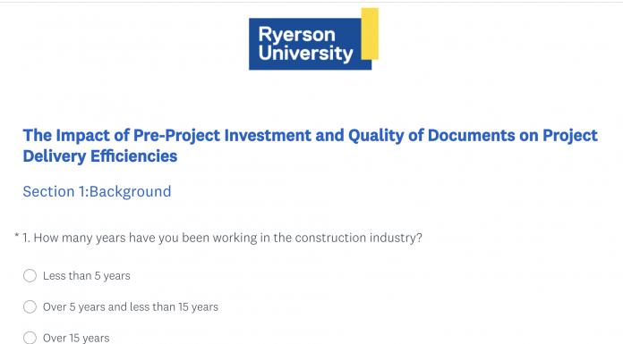 ryerson design survey