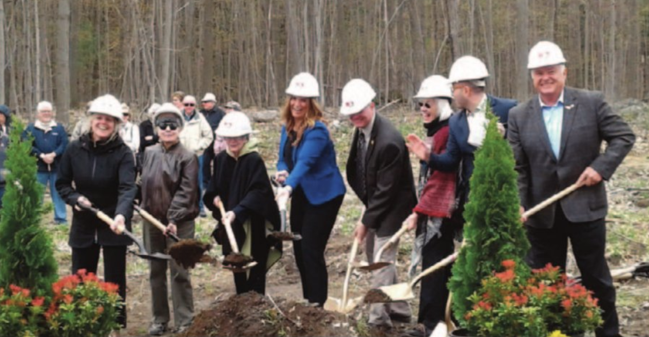 tomkins house groundbreaking