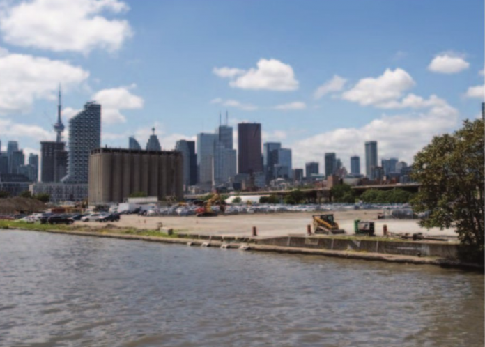 Toronto waterfront image