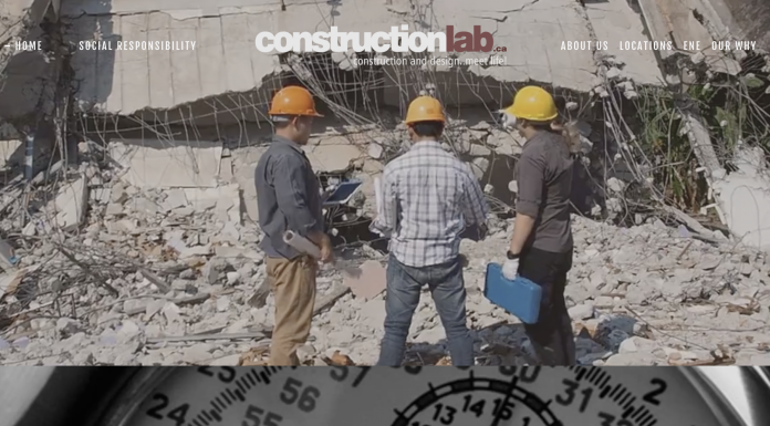 constructionlab.com website