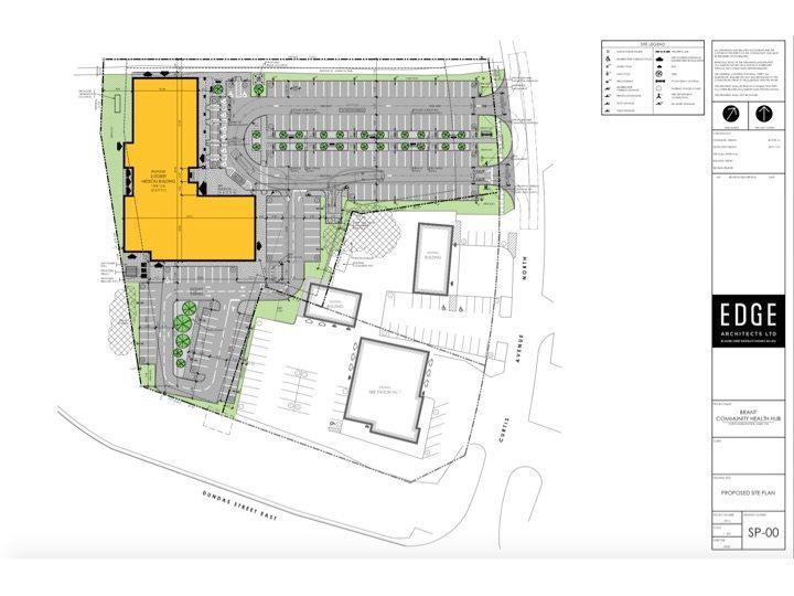 site plan bradt health hub