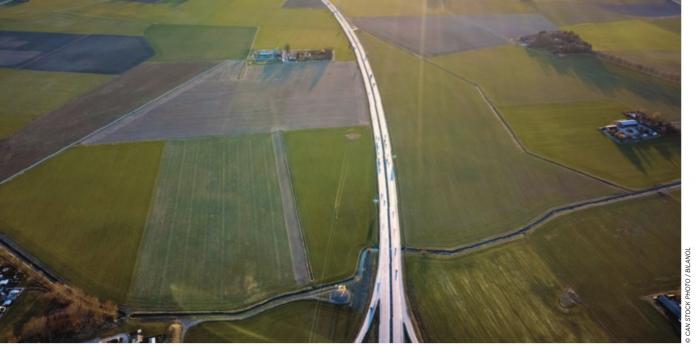 rural road stock image