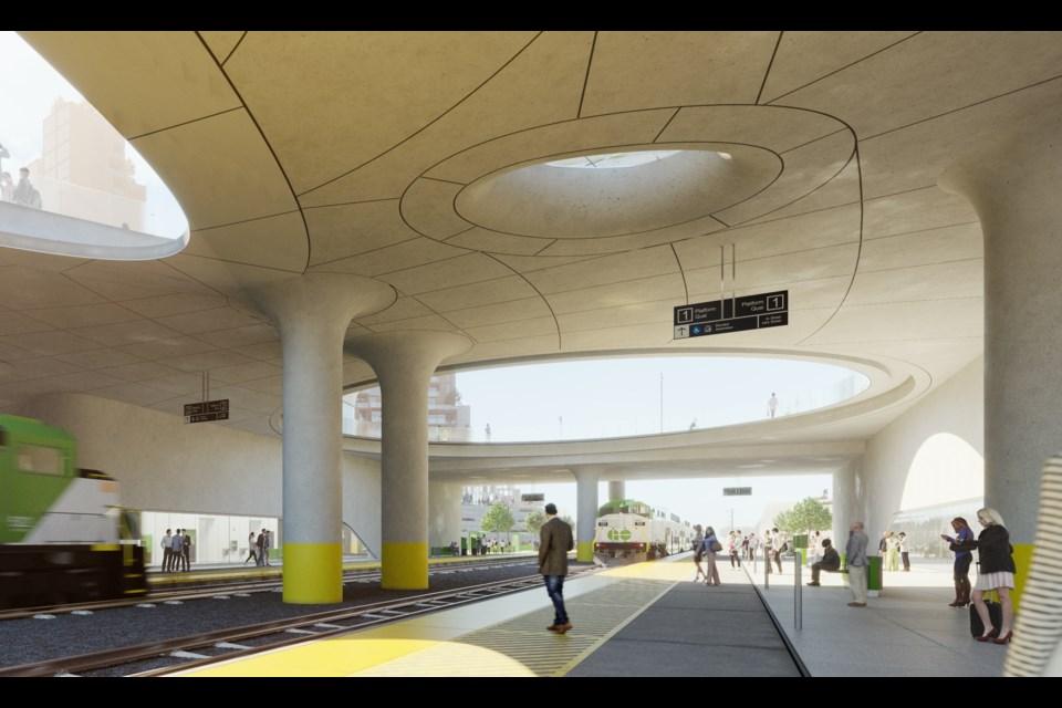 Innisfal go station plan