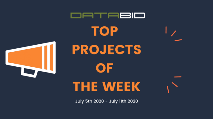 DataBids Top Leads of The Week 07052020 - 07112020