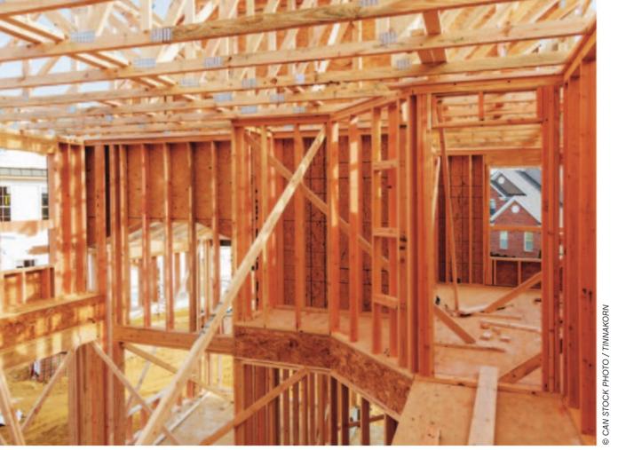 homeconstruction stock image