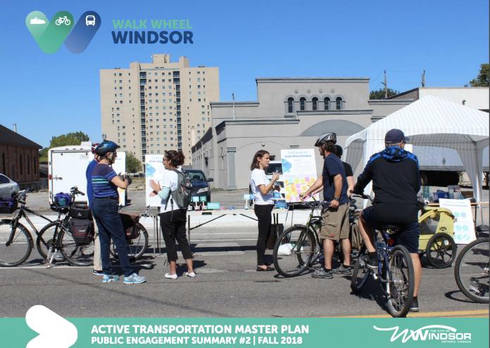 windsor active transportation plan