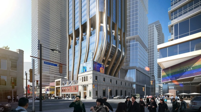 Rendering by DIALOG, from submissions to City of Toronto's