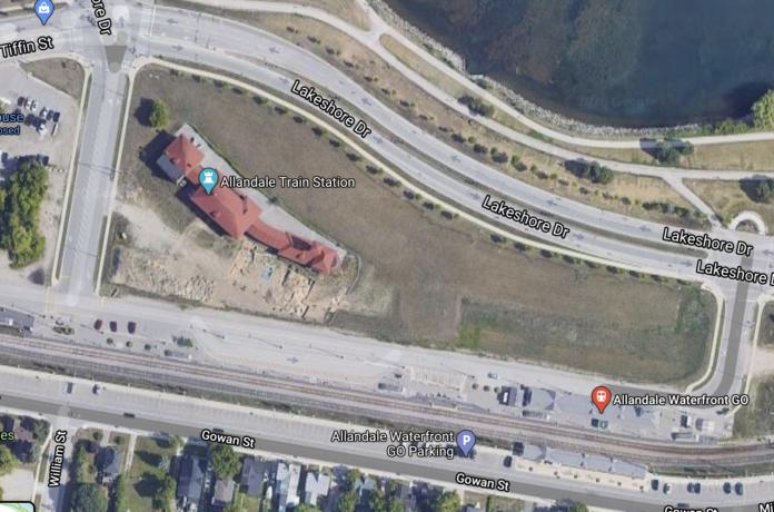 allandale station lands