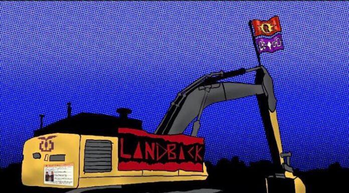caledonia land back facebook site
