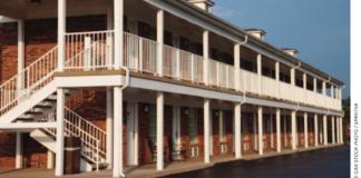 motel stock image