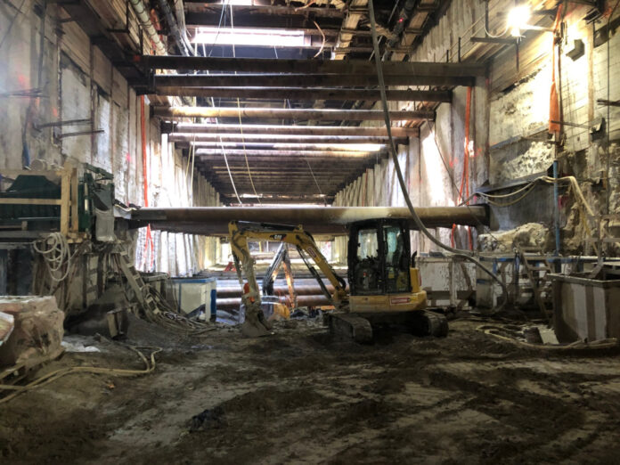 metrolinx eglinton construction