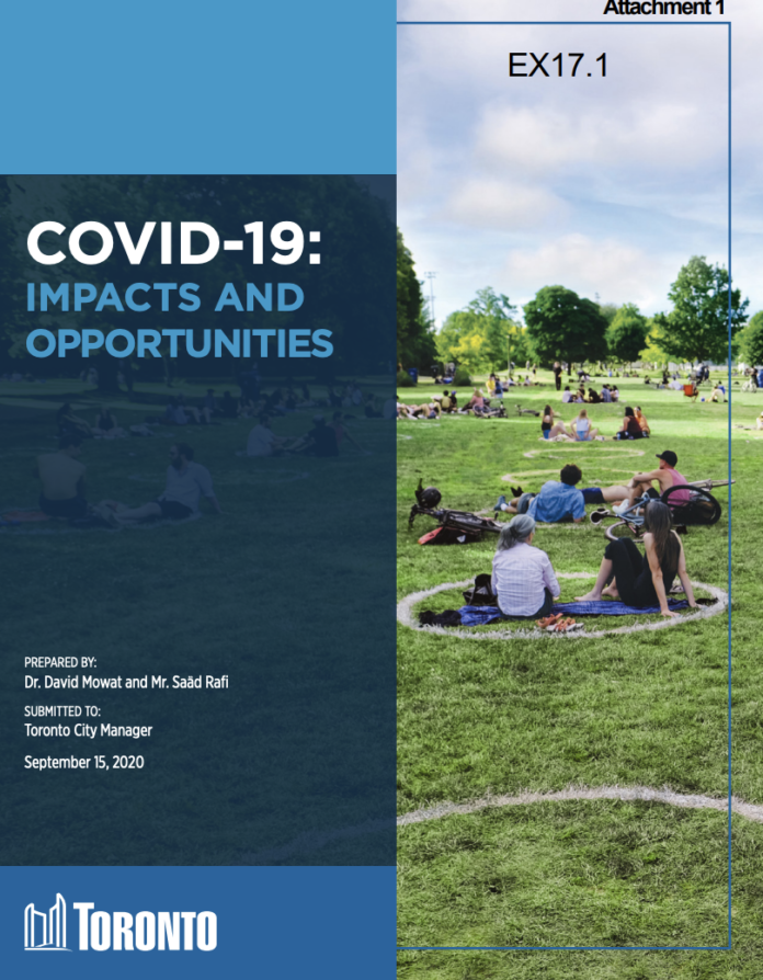 covid cover city manager's report