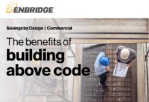Enbridge buiding by design building above code