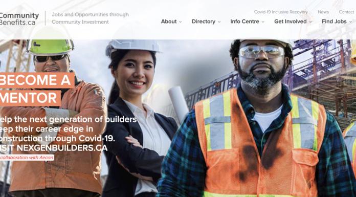 communitybenefits.ca website