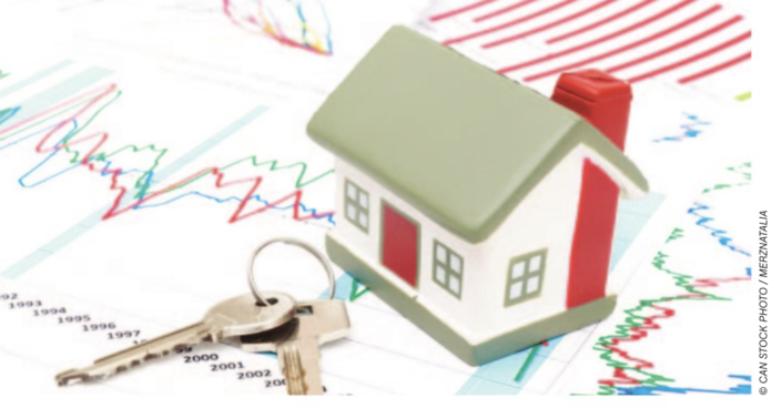 home sales stock image