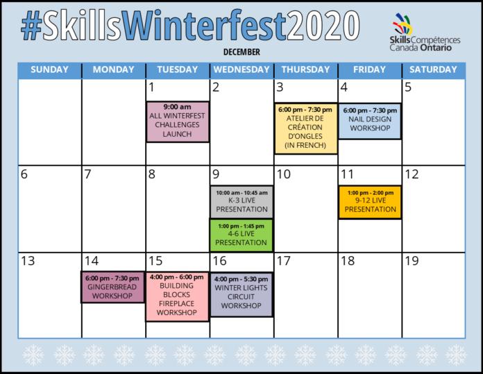 skills ontario winterfest