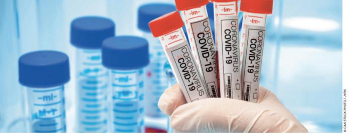 covid 29 test vaccine image