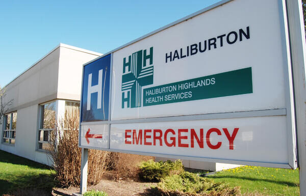 haliburton hospital sign