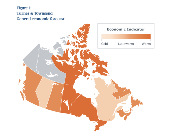 turner and townsend canada economy