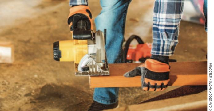 construction work stock image