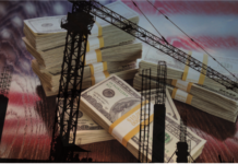 us construction stock image