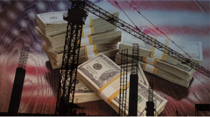 us construction stock image