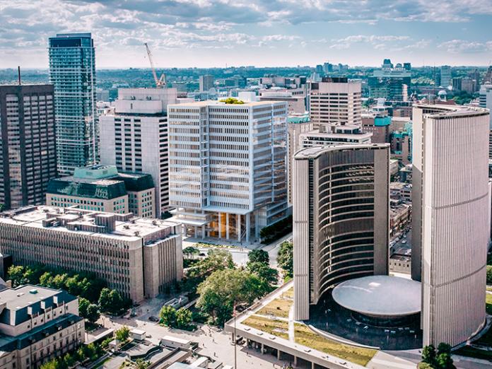 Toronto courthouse