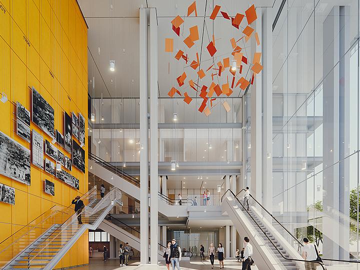 Toronto Courthouse interior