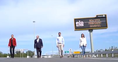 highway 427 opening